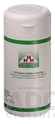 HH Dezinfekčné obrúsky jednorázové (dóza) 1x120 ks