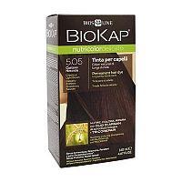 Farba na vlasy Biokap Nutricolor Delicato 5.05 Gaštanová svetlá hnedá