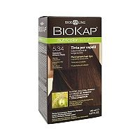 Farba na vlasy Biokap Nutricolor Delicato 5.34 Medový gaštan