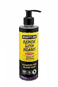Beauty Jar - BLONDE WITH BRAINS šampón pre blondínky 250 ml