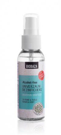 BIOBAZA prírodná univerzálna dezinfekcia Balenie: 50 ml