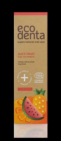 Detská pasta Juicy Fruit - Ecodenta - 75ml