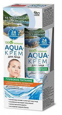 """Fito Kosmetik Fitokosmetik  Aqua-krém  pre normálnu a citlivú pleť """"VYŽIVUJÚCI""""  45ml"""