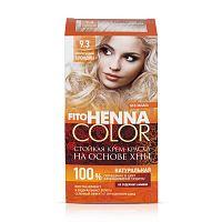 Fito Kosmetik Fitokosmetik Krémová farba na vlasy Henna color  9.3  PERLEŤOVÁ  BLOND 115ml