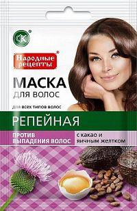 Fito Kosmetik Fitokosmetik Maska na vlasy LOPÚCH + KAKAO+ VAJEČNÝ ŽĹTOK  proti vypadávaniu vlasov 30ml