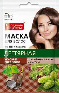 Fito Kosmetik Fitokosmetik Maska na vlasy s obsahom dechtu, lopúchového oleja a extraktu chmeľu 30 ml