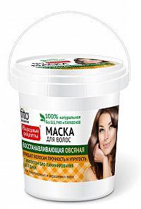 Fito Kosmetik Fitokosmetik  Obnovujúca vlasová maska s ovsennými proteínmi  na poškodené a farbené  vlasy 155ml