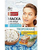 Fito Kosmetik Fitokosmetik Tonizujúca maska na tvár na báze tvarohu pre všetky typy pleti  25 ml