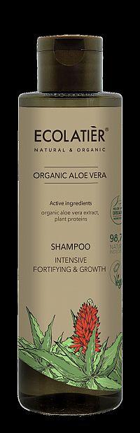 Šampón Aloe vera - posilňuje a podporuje rast vlasov - EcoLatier Organic - 250ml
