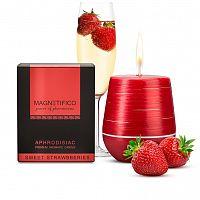 Afrodiziakálne vonné sviečky SWEET STRAWBERRIES
