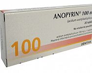 Anopyrin 100 – recenzia, skúsenosti, užívanie. Existuje náhrada?