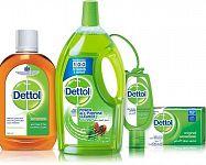 Dettol mydlo, antibakteriálny gél, obrúsky aj dezinfekčný sprej