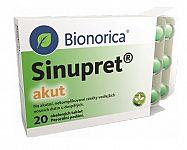 Sinupret Akut – recenzia. Príbalový leták, zloženie, skúsenosti