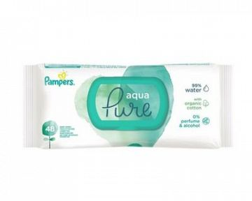 Pampers Aqua Pure vlhčené obrúsky – recenzia, skúsenosti, cena, použitie