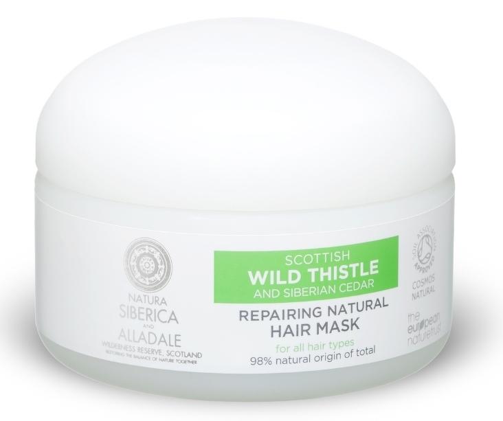 Alladale - Obnovujúca prírodná maska na vlasy 120ml