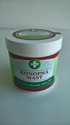 ANNABIS KONOPNÁ MASŤ na masáž v obalsti svalov, chrbta a kĺbov 1x300 ml