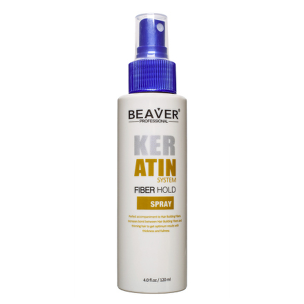 BEAVER FIBER HOLD SPRAY fixačný sprej na vlasové vlákna 1x120 ml