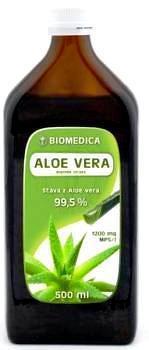 BIOMEDICA ALOE VERA šťava 99,55% 1x500 ml