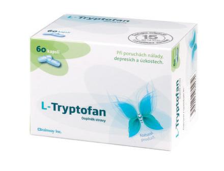 Brainway L-Tryptofan cps 1x60 ks