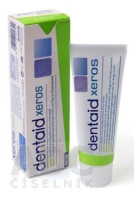DENTAID XEROS zubná pasta na slinotvorbu, 1x75 ml