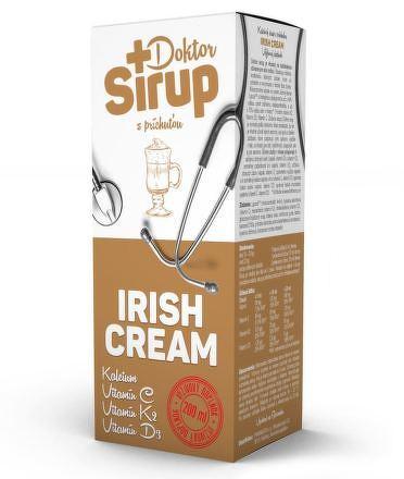 Doktor Sirup kalciový sirup s príchuťou IRISH CREAM 1x200 ml