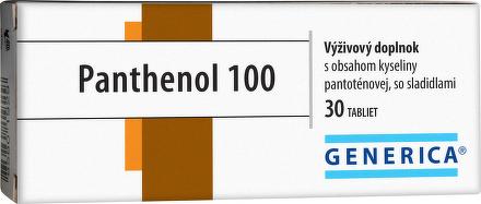 GENERICA Panthenol 100 tbl 1x30 ks
