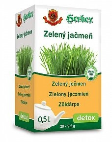 HERBEX ZELENÝ JAČMEŇ bylinný čaj 20x2,5 g