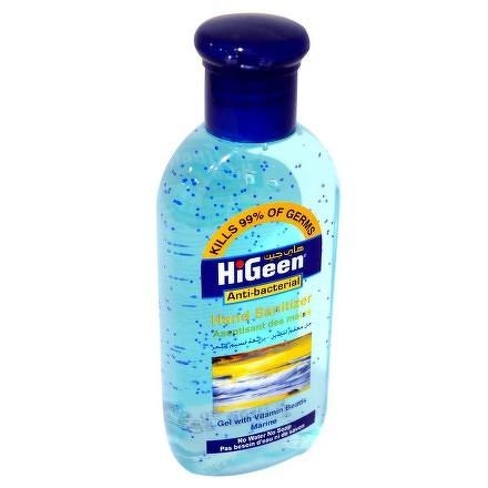 HiGeen Antibakteriálny gél na ruky s glycerínom a vitamínovými perličkami More 1x110 ml