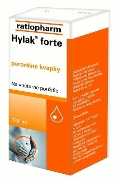 HYLAK FORTE gtt por 1x100 ml