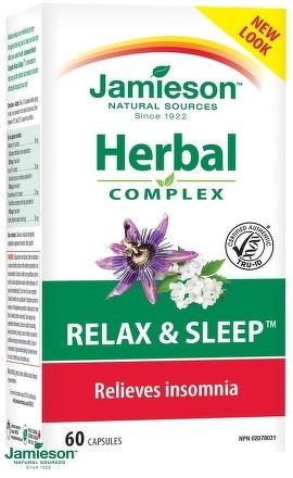 Jamieson Relax a spánok 60cps