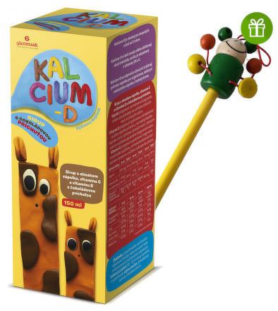 KALCIUM-D Glenmark sirup 1x150 ml