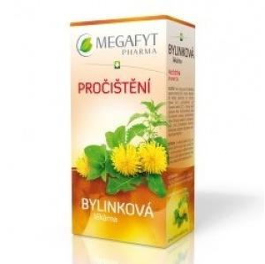 MEGAFYT Bylinková lekáreň PREČISTENIE bylinný čaj 20x1 5 g