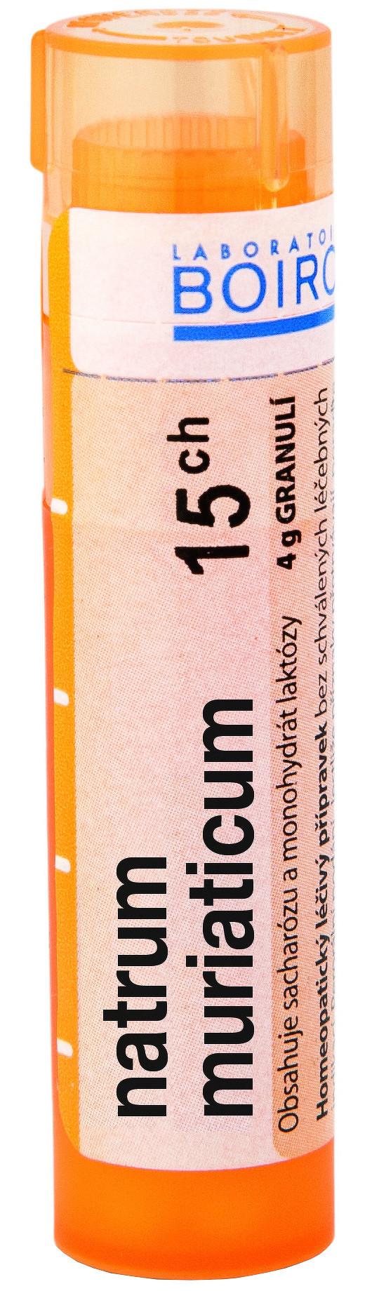 Natrum Muriaticum CH15 granule 4g