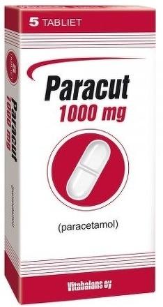 Paracut 1000 mg tbl 1x5 ks