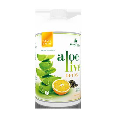 Pharma Activ AloeVeraLife DETOX šťava z aloe 1x1000 ml
