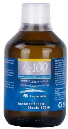 8643389be Pharma Activ Koloidné striebro Ag100 hustota 25ppm 1x300 ml ...