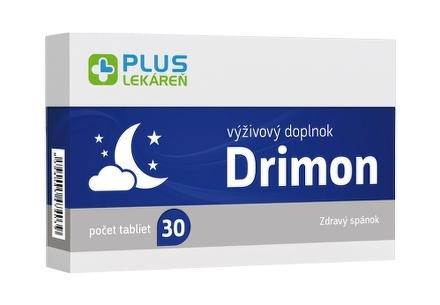 PLUS LEKÁREŇ Drimon tbl 1x30 ks