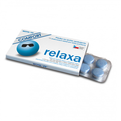 relaxa COMFORT tbl 1x10 ks
