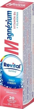 Revital Horčík + B6 brusnica 20 eff.