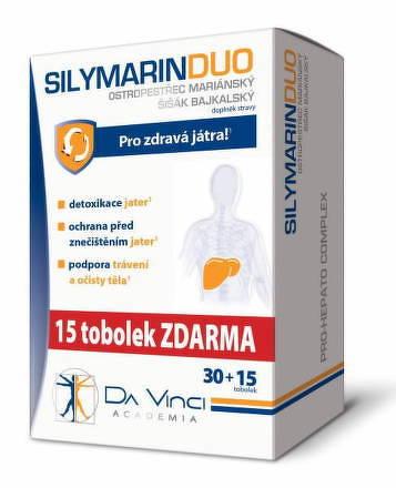 SILYMARIN DUO - DA VINCI cps 30+15 zadarmo