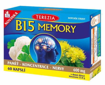 TEREZIA B15 MEMORY cps 1x60 ks
