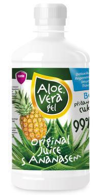 VIRDE ALOE VERA gél s ananásom šťava 1x500 ml