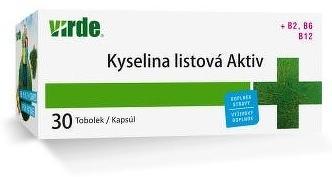 VIRDE KYSELINA LISTOVÁ AKTIV cps 1x30 ks