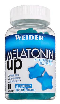 Weider Melatonin Up, 60 gummies