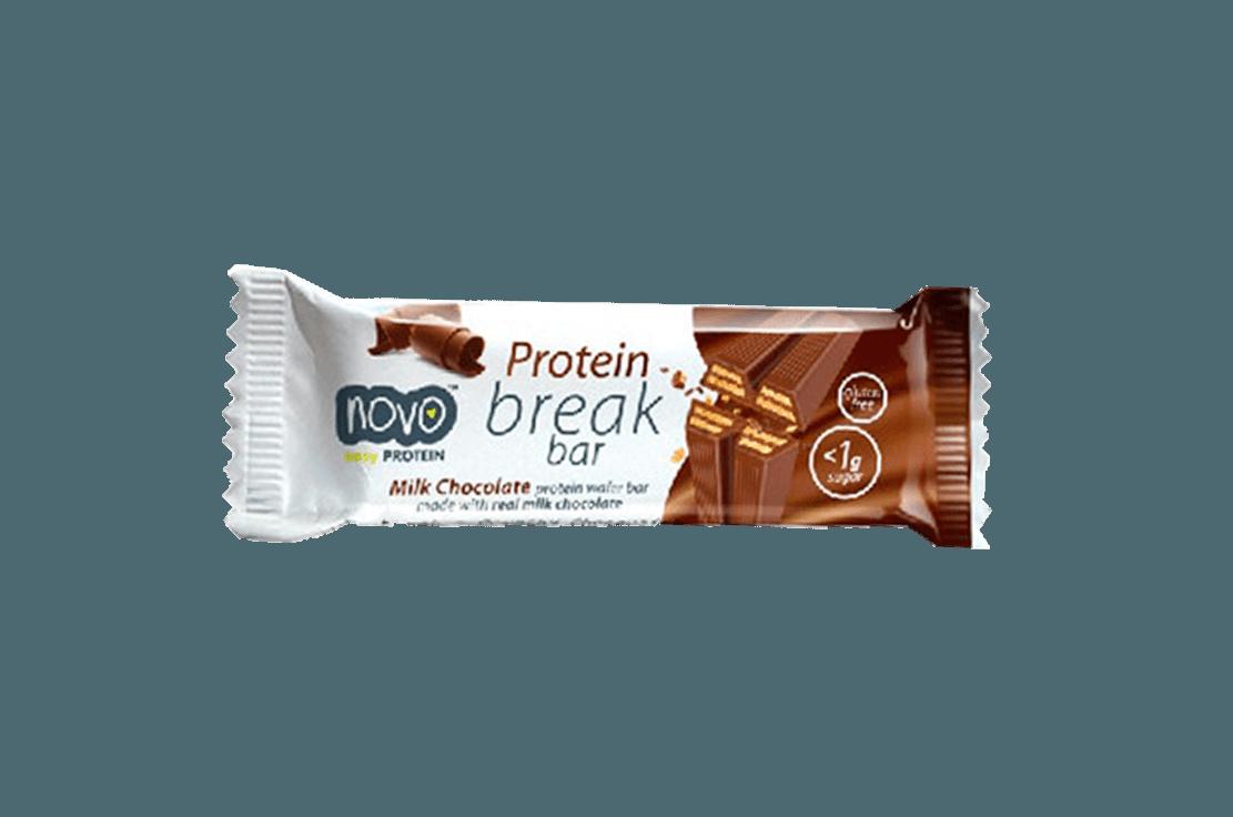 Novo Nutrition Protein break bar 21,5 g milk chocolate