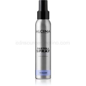 Alcina Pastell Spray tonujúci krém na vlasy s okamžitým účinkom odtieň Ice-Blond 100 ml