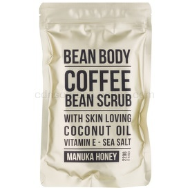 Bean Body Manuka Honey vyhladzujúci telový peeling  220 g