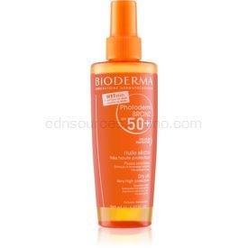 Bioderma Photoderm Bronz ochranný suchý olej v spreji SPF 50+  200 ml