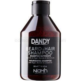 DANDY Beard & Hair Shampoo šampón na vlasy a fúzy 300 ml