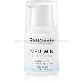 Dermedic Melumin  nočný krém proti tmavým škvrnám  55 g